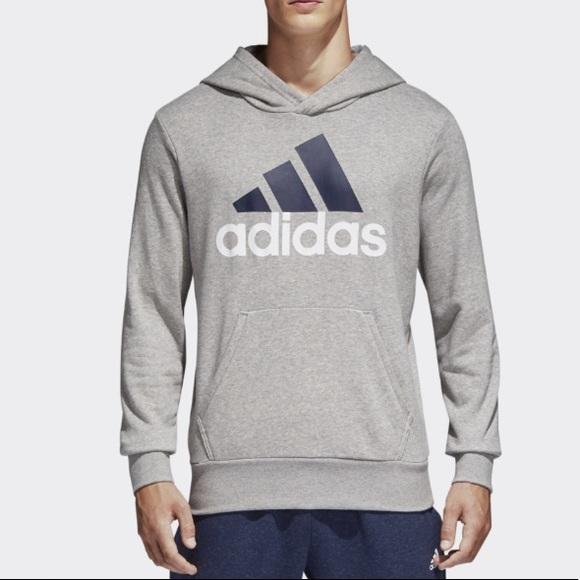 NWT ADIDAS essential linear athletic hoodie large NWT